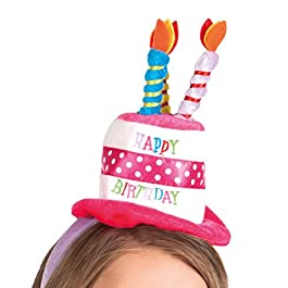 Boland 00940 – Tiara Happy Birthday, Multicolor