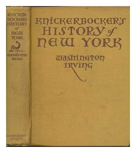 Knickerbocker's History of New York, by Washington Irving
