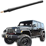 VOFONO 8 Inch Stub Antenna Compatible with Jeep Wrangler JK JL JLU Sahara Rubicon Gladiator 2007-2021 | Car Wa