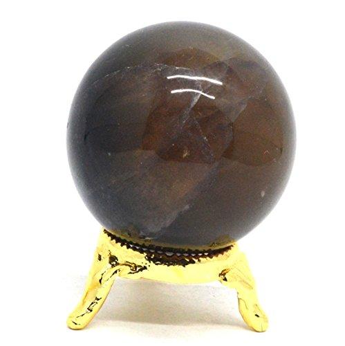 Metaphysische Heilung Kristall poliert Kugel Ball Mineral Feng Shui Chakra Aura Balance Stone Multi Fluorite 50-60mm -