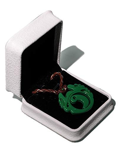 skette Tomb Raider Cosplay Necklace Game und Film Zubehör Neckkette Anhänger aus Legierung Grün 100g Halskette für Damen und Herren ()