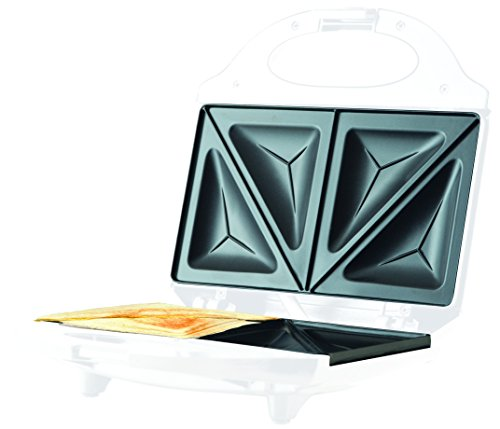 miatec Sandwichtoaster Toaster weiß 800W