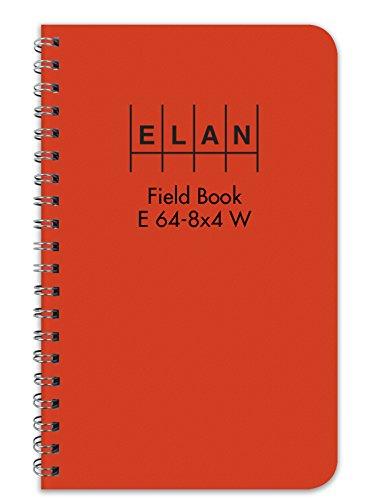 Engineers Field Book Wire Style E64-8x4W by Elan Publishing (Elan Publishing)