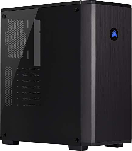 Corsair Carbide Series, 175R RGB, Boîtier PC Gaming (ATX Moyen-Tour avec Fenêtre en Verre Trempé) - Noir