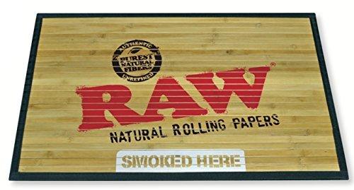 Raw natur-Papers-Bambus Fußmatte 76,2x 45,7cm