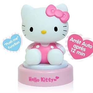 Veilleuse 3d tête hello kitty, cadeau hello kitty