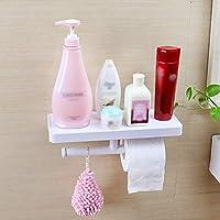 Pod Toilette Saugregal Wand Montiert Kosmetik Rack Handtuch Rack Küche Bad Spiegelfront-Hole-Einlass-Kleiderbügel,A preisvergleich bei billige-tabletten.eu