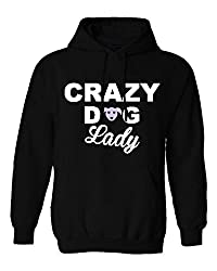 A002 Crazy dog lady love pets animal puppy Cheap hoody Pullover hooded top