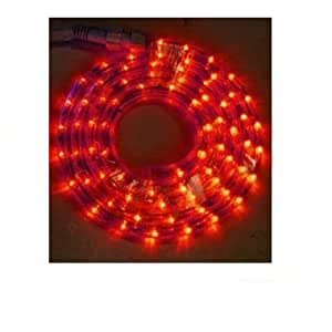 Ex-Pro 6m LED RED Rope Light Chrismas / Party / Wedding Decoration, Indoor or Outdoor.