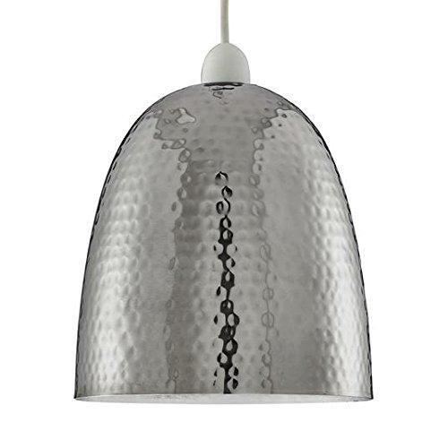 henne-chrome-hammered-pendant-shade