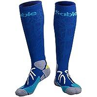 Sable Kompressionsstrümpfe, Laufsocken Basketball Socken, Socken mit Kompressionstechnologie für athletisches... preisvergleich bei billige-tabletten.eu