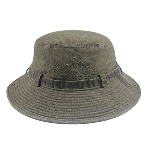 Masculin coréen Sun Hat/Chapeau Camo/Ladies seau Hat/amoureux et chapeau de pêcheur de loisir H