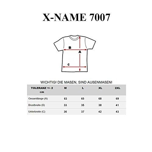 BOLF Herren Tanktop T-Shirt Ärmellos Muskelshirt Classic X-NAME 7007 Weiß