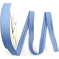 n/ähen mit Glitzer Meterware Fuchsia Baumwolle Fany Schr/ägband 18mm 1meter Kanten-Band