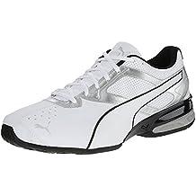 Puma Men's Tazon 6 Cross-Training Shoe, Blanco, 39 EU/6 UK