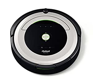 iRobot Roomba 680 Robot aspirapolvere, 33 W, 33 Decibel, Grigio