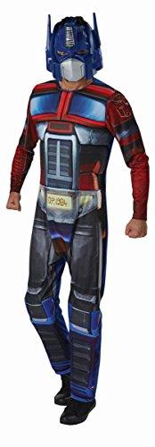 Transformers Herren Kostüm Optimus Prime Karneval (Kostüm Prime Für Erwachsene Optimus)