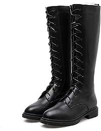 5d9f21e599 Amazon.it: stivali lacci - Stringata / Stivali / Scarpe da donna ...