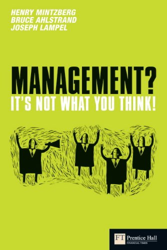 Management? It's not what you think! (Financial Times Series) por Henry Mintzberg