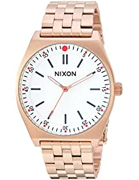 Nixon Women's 'Crew' Quartz Stainless Steel Casual Watch, Color Rose Gold-Toned (Model: A11862761)