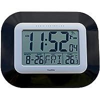 Radio Controlled LCD Wall Mountable and Desk Clock (UK & Ireland Version) Jumbo LCD