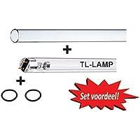 XClear UV C Kit de bombillas de repuesto, 30W TL (entre otros, adecuado para TMC)