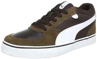 Puma Skate Vulc 354604 Sneaker uomo Marrone Braun demitasse brown white 07
