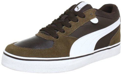Puma Skate Vulc, Low-top homme Marron - Braun (demitasse brown-white 07)