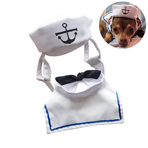Castle Kostüm - KENANLAN Halloween-Haustiermütze, Marineblau, Haustierkostüm für Hunde und Katzen, Halloween-Kostüme