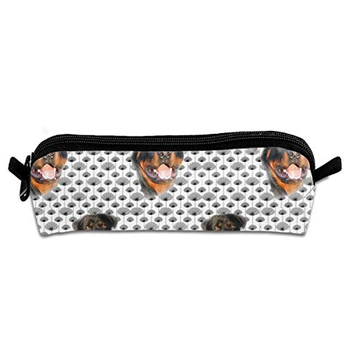 Womens Thistle (Rottweilers And Thistles Make Up Travel Bag Pouch For Women Cosmetic Toiletry Bag with Zipper)