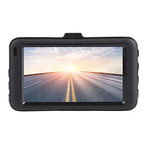 Keenso 3 ZollFull-HD 1080P-Auto-Rückfahrkamera Spiegel Dash Cam 140 ° Weitwinkel-DVR-Videorecorder mit G-Sensor/WDR/Dual-USB/Parküberwachung