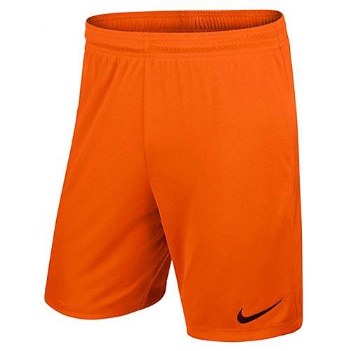 Nike Kinder Park II Knit Shorts ohne Innenslip Safety Orange/Black, M