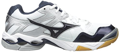 Mizuno Wave Lightning Z Synthetik Cross-Training White/Black/Silver