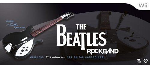 The Beatles: Rock Band Wii Wireless Rickenbacker 325 Guitar Controller by MTV Games
