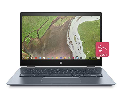 HP Chromebook x360 14-da0301ng (14 Zoll / Full HD Touch) Convertible Laptop (Intel Core i5-8250U, 8 GB DDR4, 64 GB eMMC, Intel UHD Grafik 620, IPS Touch, Chrome OS) ceramic white (Hp Chromebook Laptop)