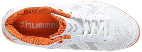 Hummel HummelHUMMEL Omnicourt Z4 - Scarpe Sportive Indoor Unisex – Adulto Bianco (Weiß (White 9001))