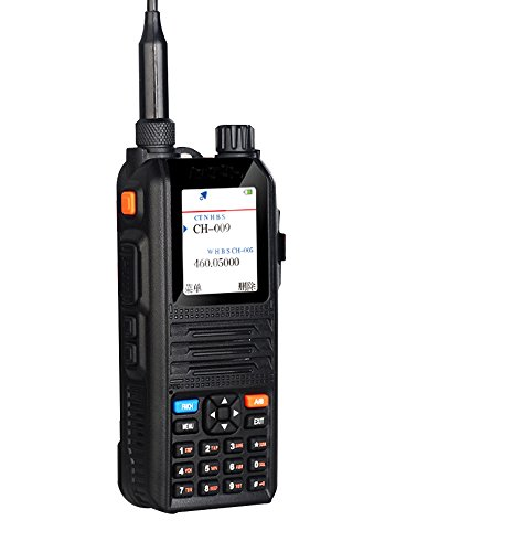 EasyTalk CP2000 Walkie Talkie Ricetrasmettitore 5W 128 Canali VHF / UHF 136-174 / 400-480 MHz Portatile FM Doppia Banda Doppia Frequenza Ricetrasmittente