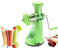 AD Passion Vegetable & Fruit Hand Juicer With Steel Handle (Green)