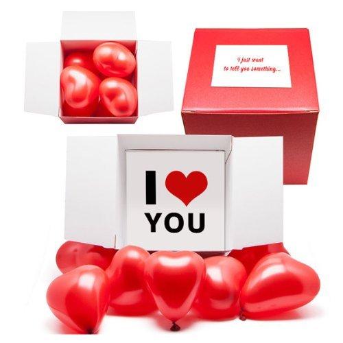 Big Box Of Love | Geschenk zum Valentinstag Set | Romantisches Geschenk Set