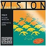 Cuerdas para viol'n Thomastik Vision Titanium Solo Synthetic Core