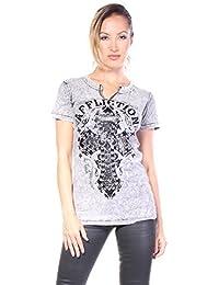 Affliction Lace & Faith - T-shirts - Femmes
