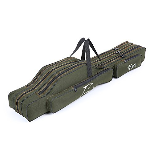 Lixada Sac portable de transport pour canne sac...