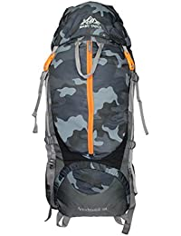 MOUNT TRACK 9106 Nylon 80L Backpack with Rain Cover(Camouflage)