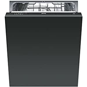 Smeg ST521 Fully built-in 12places A+ Grey dishwasher - dishwashers (Fully built-in, A, A+, Grey, A, Economy, Normal)
