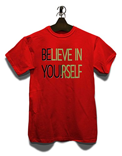 Believe In Yourself T-Shirt Rot