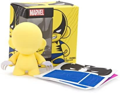 Bienvenue dans dans dans la nouvelle boutique en trois étapes pour célébrer les quatre auspicieux Kidrobot Marvel Munny&8239;: Wolverine Action Figure   De Nouveaux Produits 2019  9acdd3