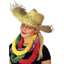 Smiffys Sombrero Hawaiano de Paja para playeros 45e259a01f0