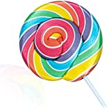 Rainbow Wheel Lollies - Swirl Lollipops - Party Favour - Sweets - Rock Candy - Baby Showers (1)
