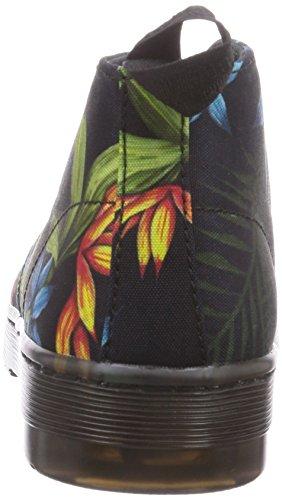 Dr. Martens DAYTONA Canvas HAWAIIAN Damen Desert Boots Schwarz (Black)