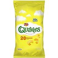 Walkers Quavers Cheese Multipack Snacks, 20 x 16 g